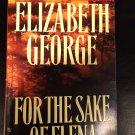Inspector Lynley: For the Sake of Elena by Elizabeth George (1993, Paperback)