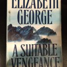 Inspector Lynley: A Suitable Vengeance by Elizabeth George (1992, Paperback)