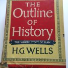 The Outline of History by H.G. Wells (1948, Hardcover)