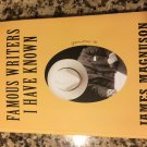 Famous Writers I Have Known by James Magnuson (2015, Paperback)