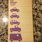 1979 Gar Mileage Guide Second Edition January 1979 by EPA Fuel Economy Estimates