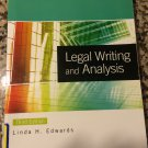 Legal Writing and Analysis by Edwards (2011, Paperback, Revised, 3rd Edition)