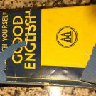 Teach Yourself Good English [Hardcover] [Jan 01, 1965] Baron, Kathleen