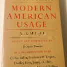 Modern American Usage a Guide [Hardcover] [Jan 01, 1966] Barzun, Jacques …