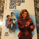 Susanna Siegelbaum Gives Up Guys (Point) [Dec 01, 1992] Foley, June