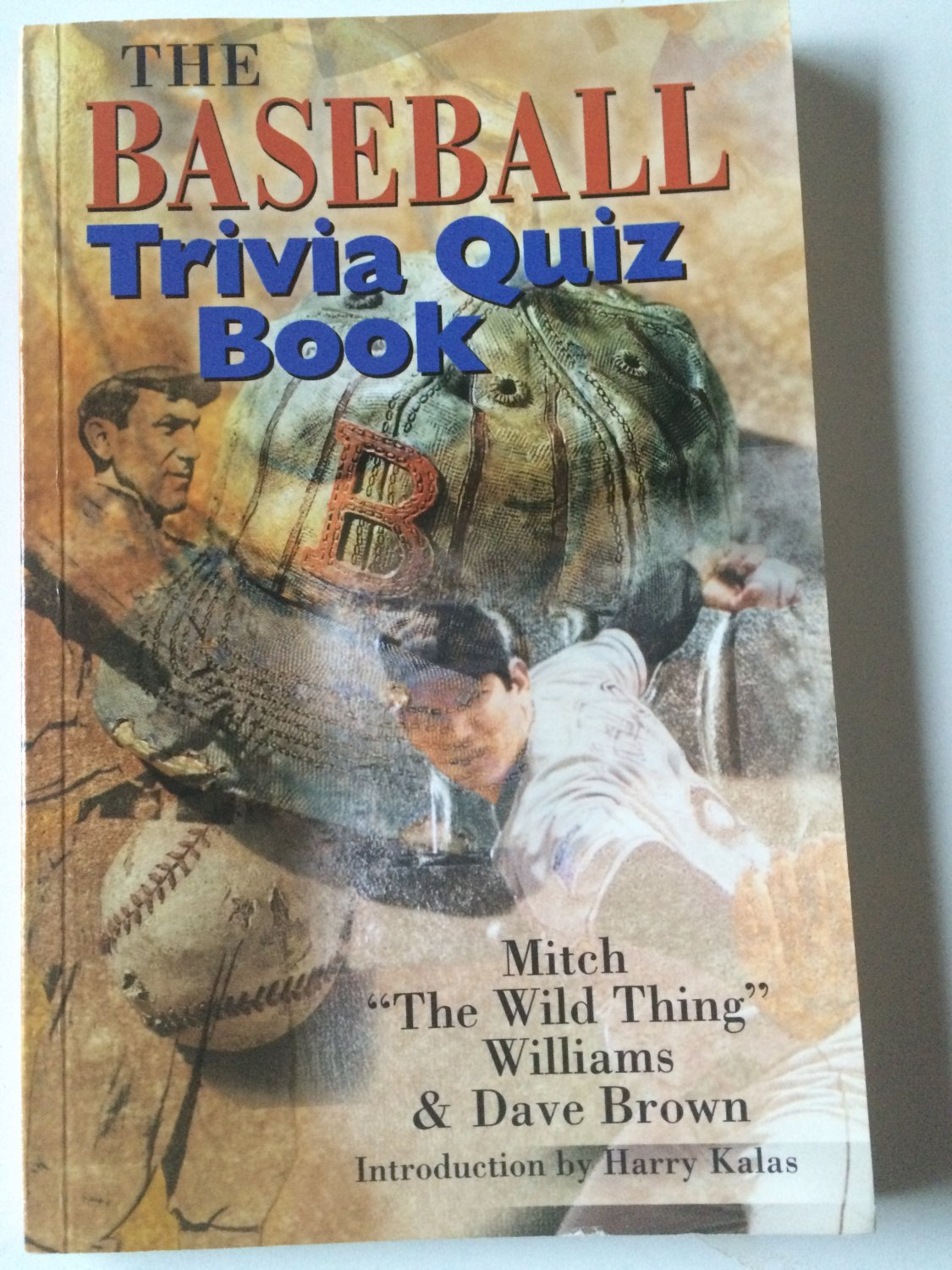 The Baseball Trivia Quiz Book by Dave Brown and Mitch Williams (2000, Paperback)