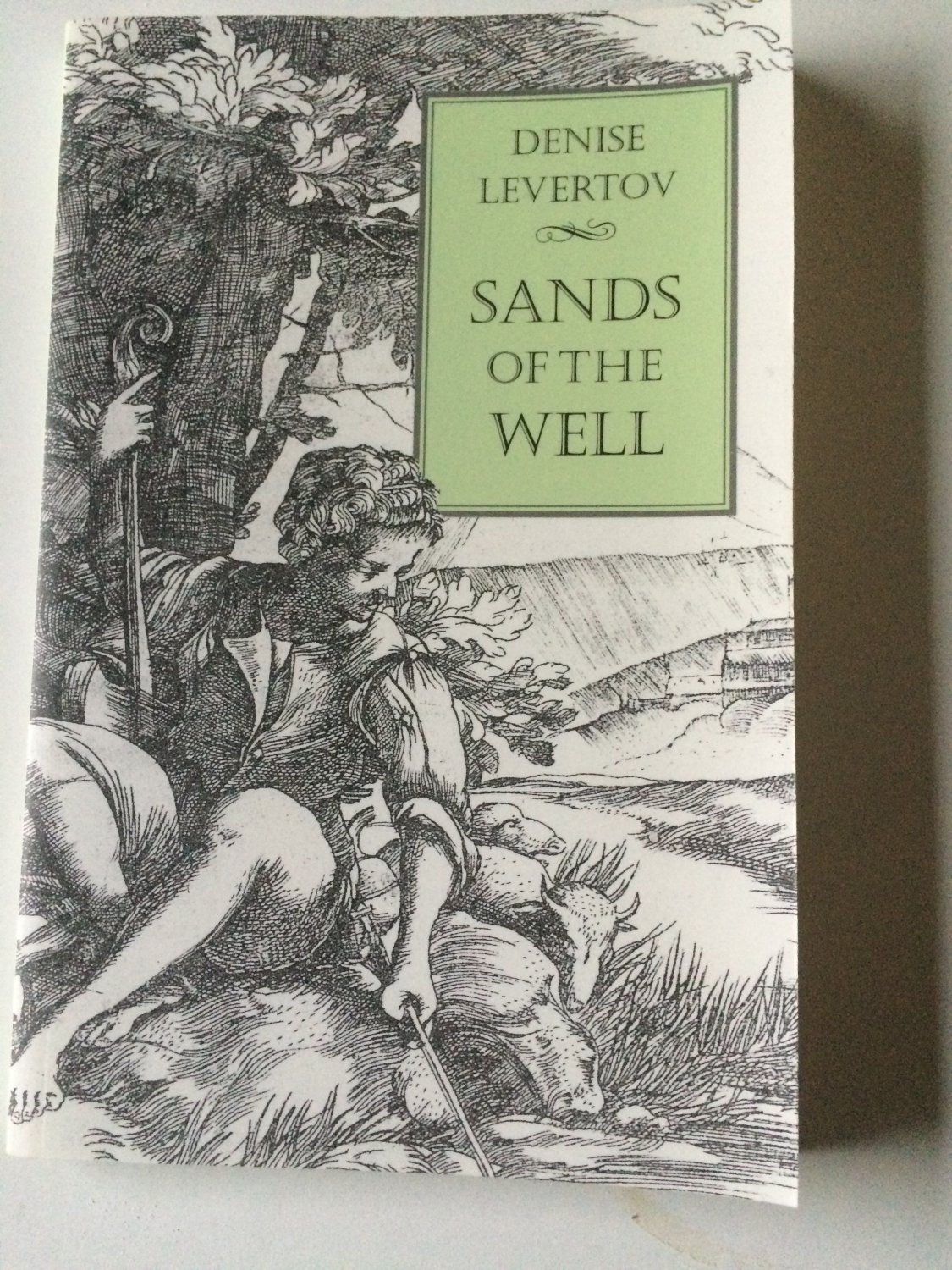 Sands of the Well by Denise Levertov (1998, Paperback)