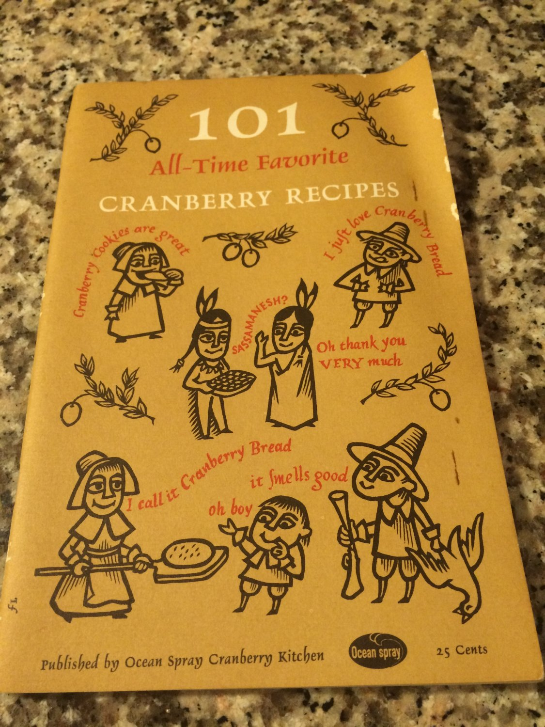 101 All-Time Favorite Cranberry Recipes by Published by Ocean Spray Cranberries