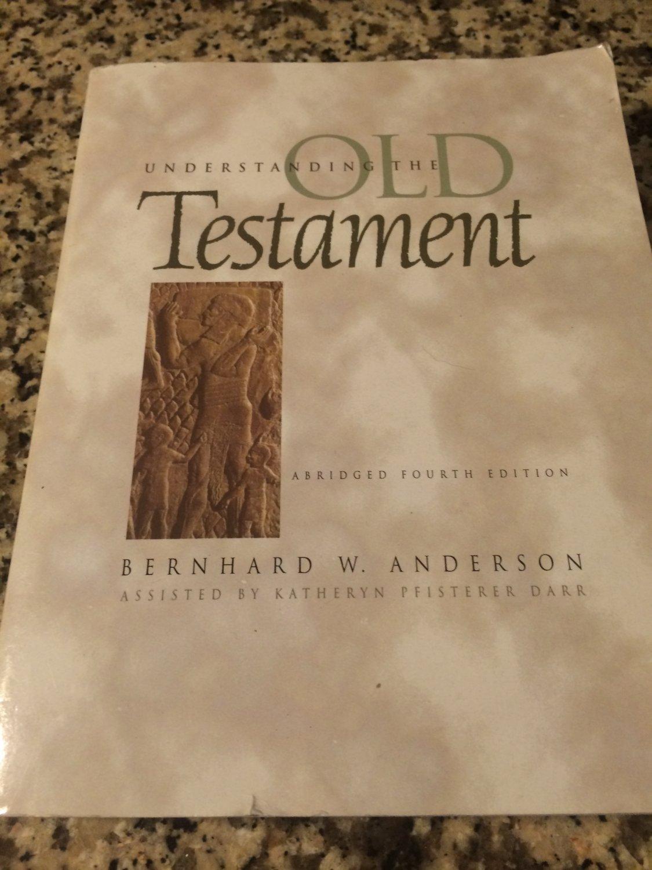 Understanding the Old Testament by Bernhard W. Anderson & Katheryn Pfisterer Darr (1997, Paperback)