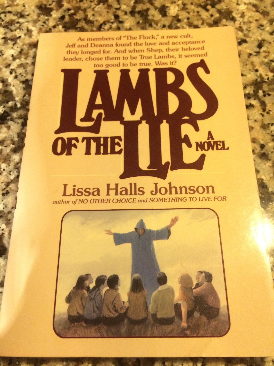 Lambs of the Lie by Lissa Halls Johnson (1987, Paperback)