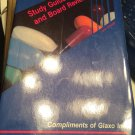 Study Guide and Board Review, Pharmacy Review: Compliments of Glaxo, Inc. [Paperback] [1989]