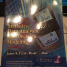 Statistics, Data Analysis, and Decision Modeling [Jul 15, 2002] Evans, James R; Olson, David L