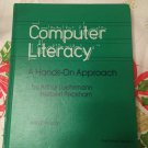 Computer literacy: A hands-on approach : Apple version (A Computer ) [1986] Luehrmann, A.