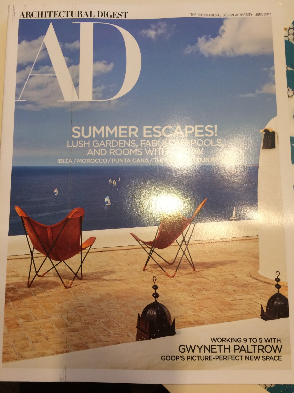 Architectural Digest Magazine June 2017 | Summer Escapes