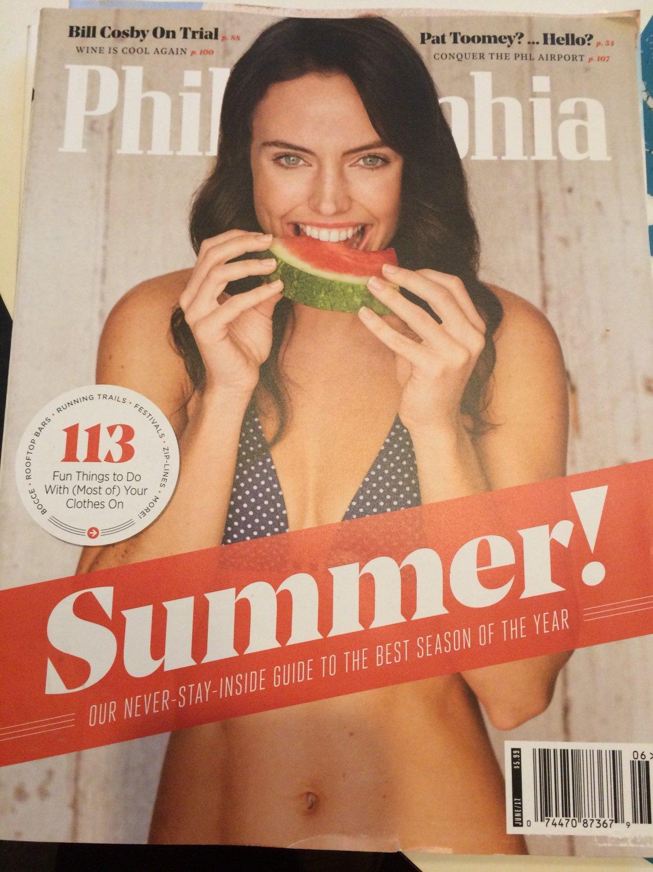 Philadelphia Magazine June 2017 - Summer Guide