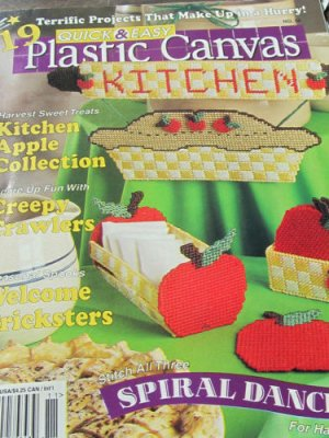 19 Fresh Spring Ideas -  For Plastic Canvas Kitchen Apple Collection