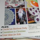 Flower & Garden Crafts Edition - Knit A Summer Afdghan - Chrochet Heirloom Doily