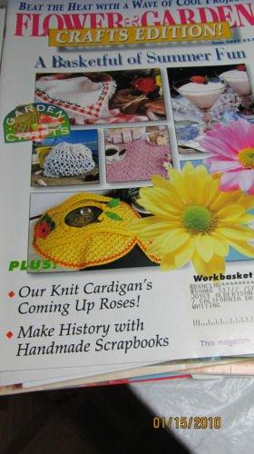 Flower & Garden Crafts Edition - Knit Cardigans - Basketful Of Summer Fun
