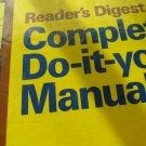 Complete Do It Yourself Manual By Readers Digest