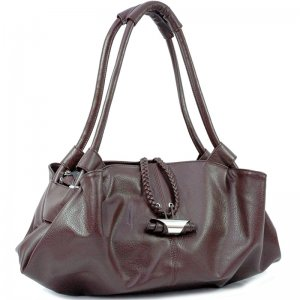 Soft Zip Top Shoulder Bag