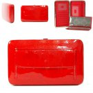 Metal frame wallet    Red