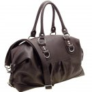 Designer inspired shoulder bag      Brown