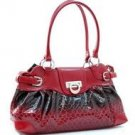Shinny fashion shoulder bag              Red