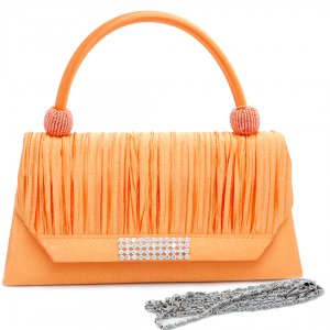 Clutches, Evening Purses  ORANGE