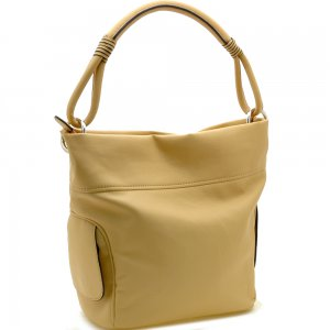 Designer inspired soft hobo bag
