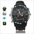4GB Nand Flash High-Quality SPY Watch with Multi-function - Elegant Disign