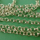5 Meters Silver Cross Chain 4mm