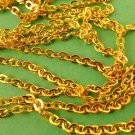 5 meters Golden Cross Chain 3.5mm x 3mm