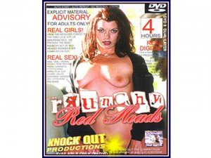 Raunchy Red Heads 4hr Adult DVD - Knock Out Productions