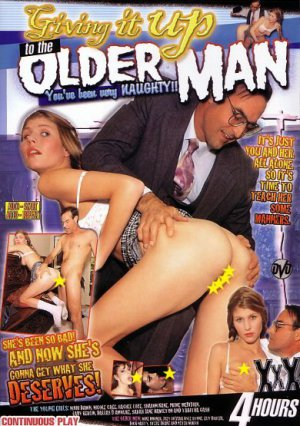 Giving It Up To The Older Man 4 hr Adult DVD - White Girls