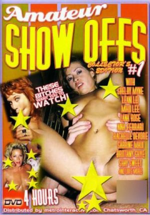 Amateur Show Offs #1 4 hr Adult DVD - Collector's Edition