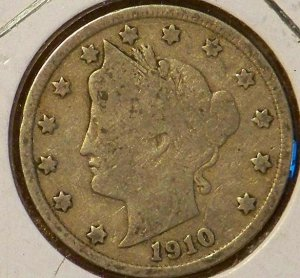 1910 Liberty Nickel (V-Nickel)