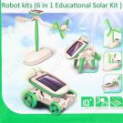 6 in 1 Solar Power Robot Kits Educational DIY Toy