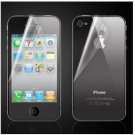 Screen Protector Front+back with cleaning cloth for iPhone 4(Transparent)