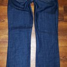 Gap Maternity LONG AND LEAN Dark Stretch Jeans Size 4 Inseam 32""
