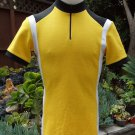 Vtg DESCENTE Vintage 80's Wool Blend Cycling Jersey Made in JAPAN Size M