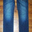 AG Adriano Goldschmied PREMIERE Dark Skinny Straight Jeans 29 x 32.5