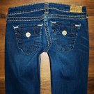 Womens True Religion JOEY SUPER T HERITAGE Twisted Flare Jeans 28 x 33