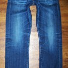 AG Adriano Goldschmied TOMBOY AGed 5 Yr Cobalt Relaxed Straight Jeans 26 x 31