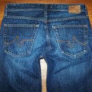 Mens AG Adriano Goldschmied PROTEGE AGed 3 Yr Dark Slim Straight Jeans 32 x 31