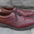 Mens ALLEN EDMONDS Brown Leather WILBERT Split Toe Oxford Shoes USA Size 12