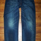 LUCKY Brand 181 JEAN Dark Wash Relaxed Straight Jeans Men's Size 42 x 31