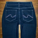 NOT YOUR DAUGHTERS JEANS NYDJ Tummy Tuck Crystal BARBARA Cropped Capri Size 2