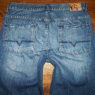 GUESS Premium Denim MIAMI Button Fly Straight Leg Jeans Men's Size 36 x 29.5