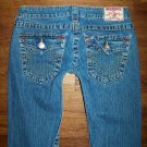 AUTH TRUE RELIGION JOEY Twisted Flare Jeans Women's Size 27 x 32