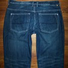 BUFFALO David Bitton DRIVEN Dark Boot Cut Jeans Mens Size 36 x 33